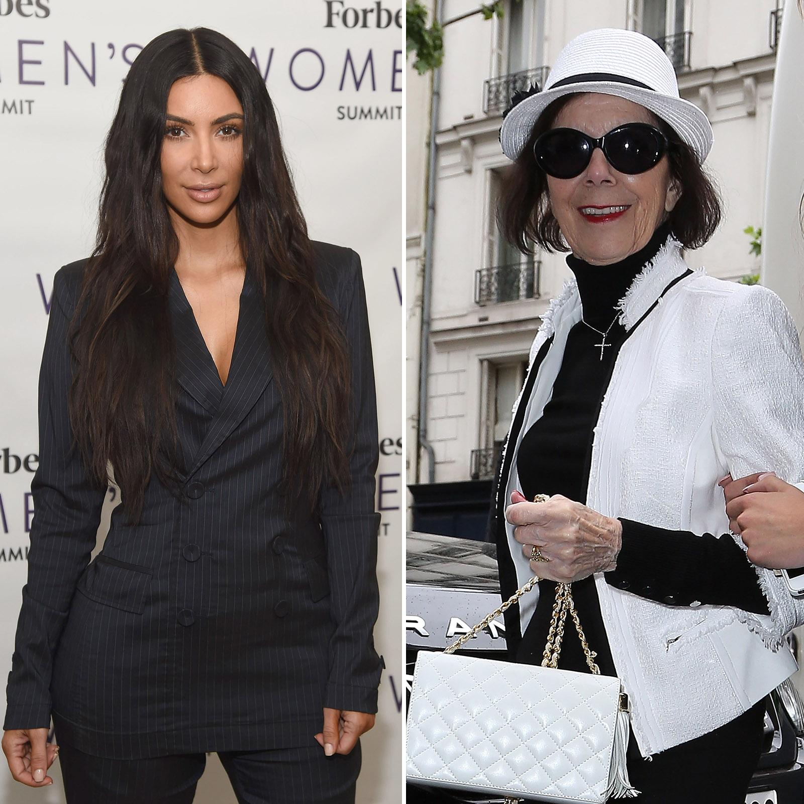 Kim Kardashian West y su abuela Mary