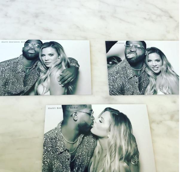 Las mejores Fotos de Khloe Kardashian y Tristan Thompson 5