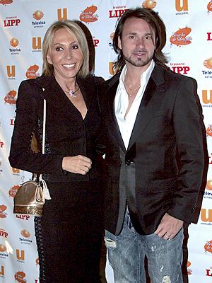 Laura Bozzo y Christian Zuárez
