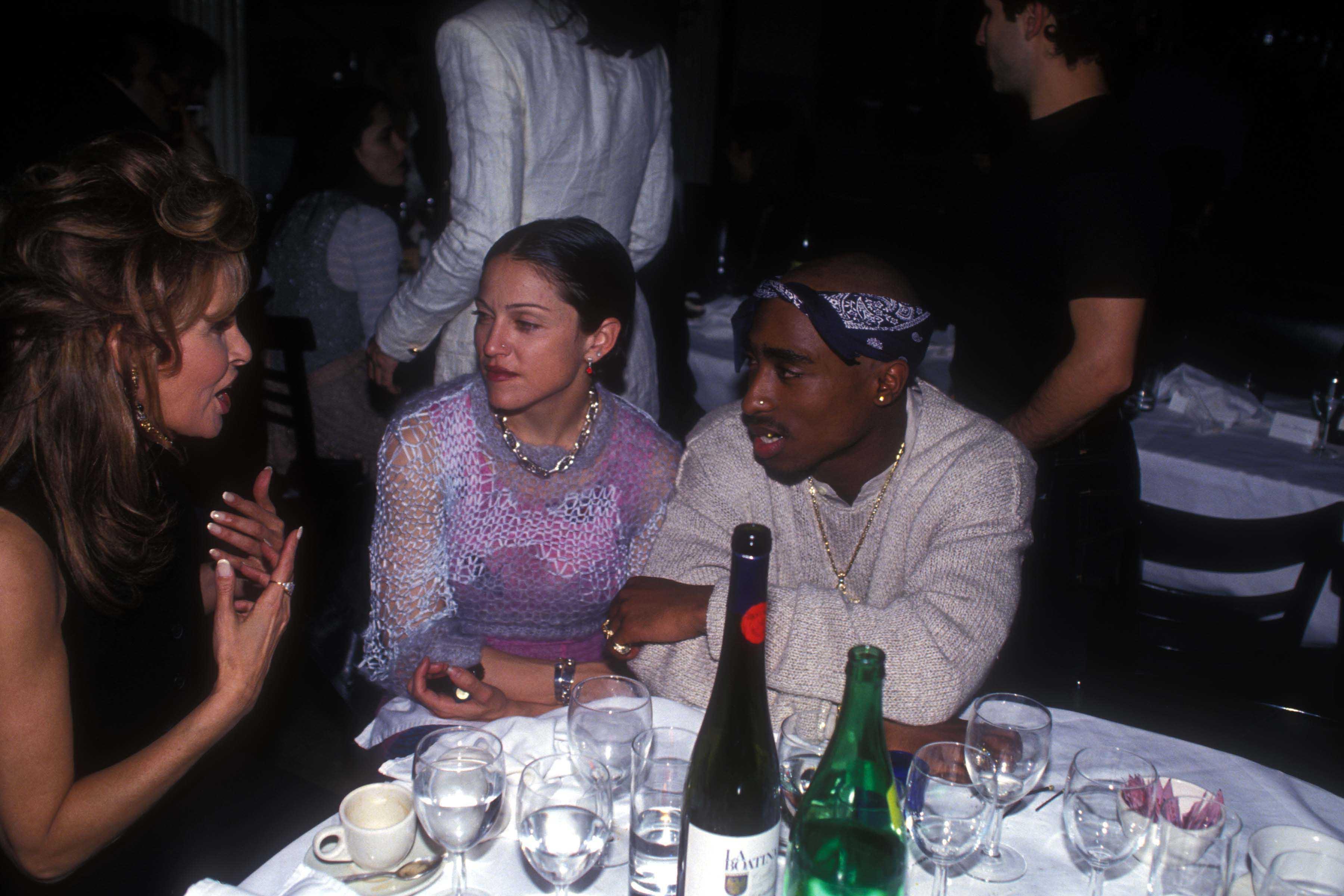 Madonna y Tupac