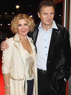 Natasha Richardson y su espos Liam Neeson