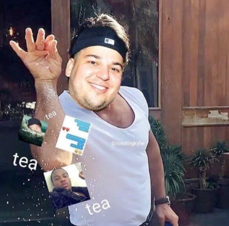 Rob Kardashian Blac Chyna memes 4