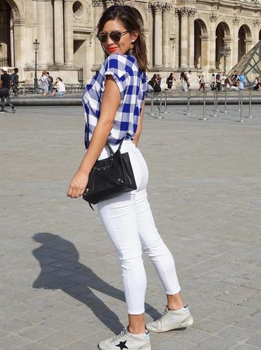 Pamela Silva, looks, estilo, paris