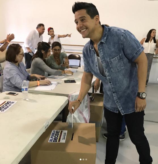 Alejandro Chabán, voto plebiscito Venezuela