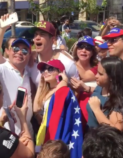 Chyno Miranda, voto plebiscito Venezuela