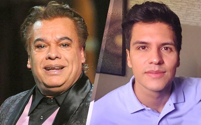 Juan Gabriel y Luis Alberto Aguilera