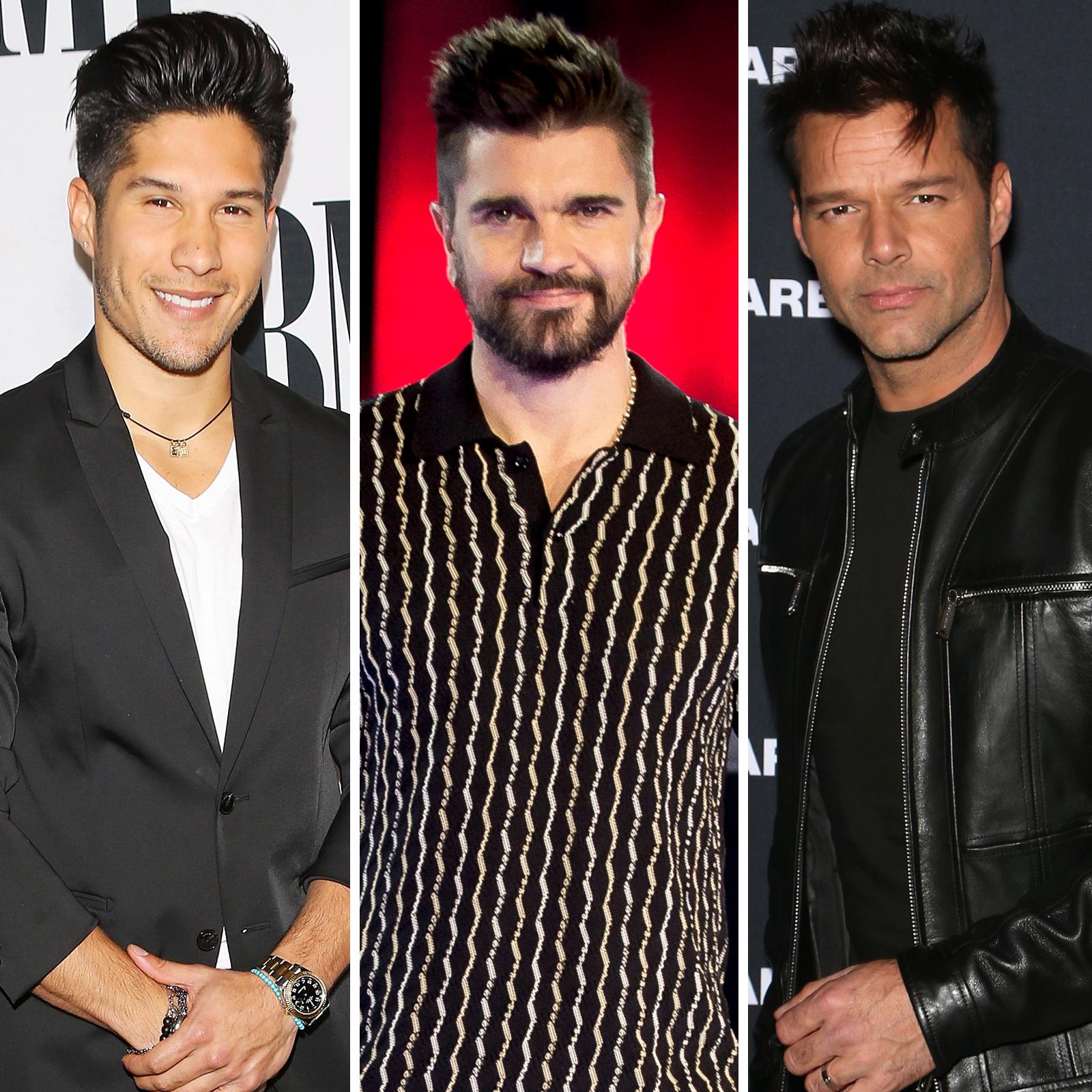 Chino Miranda, Juanes y Ricky Martin