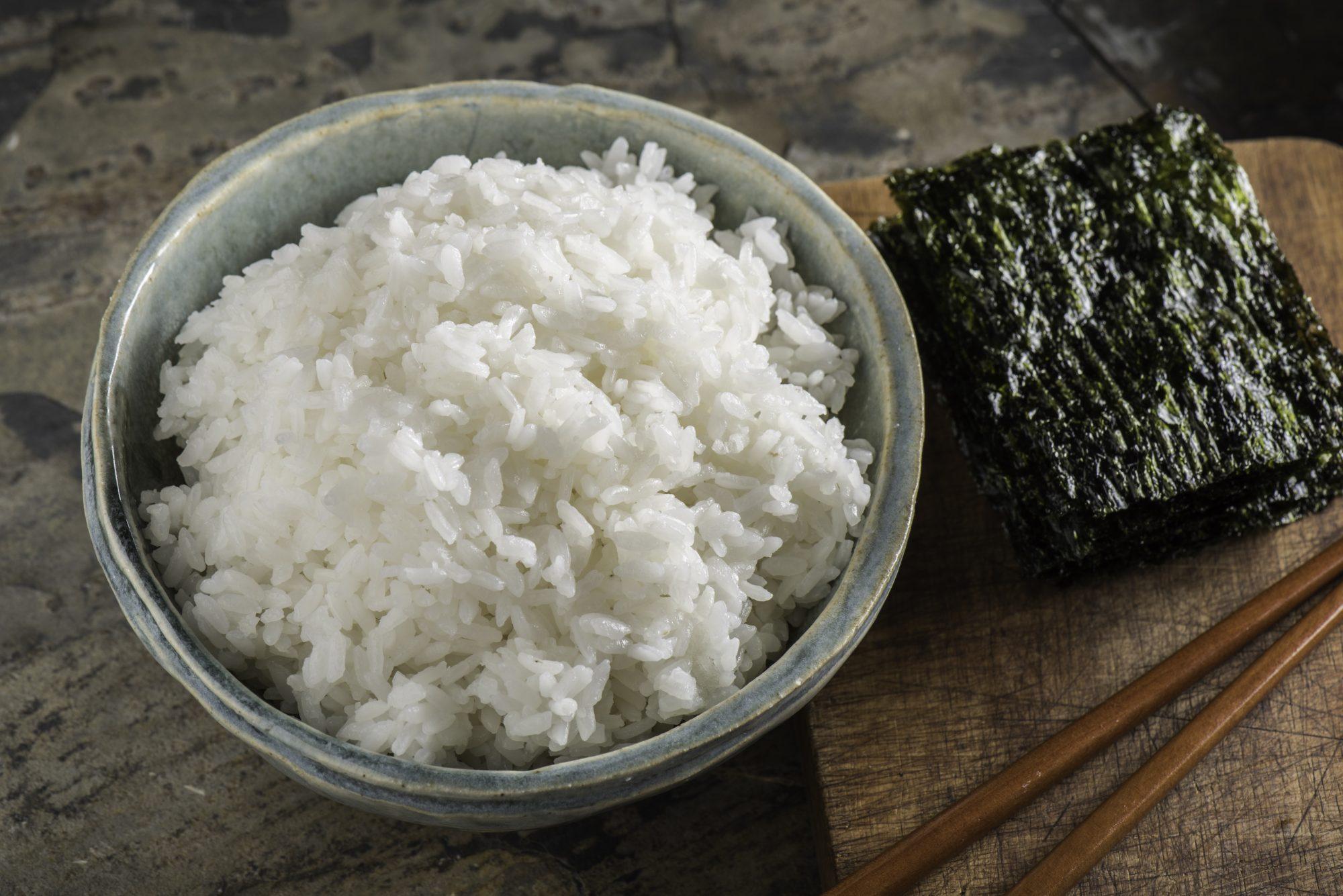 El arroz perfecto para sushi
