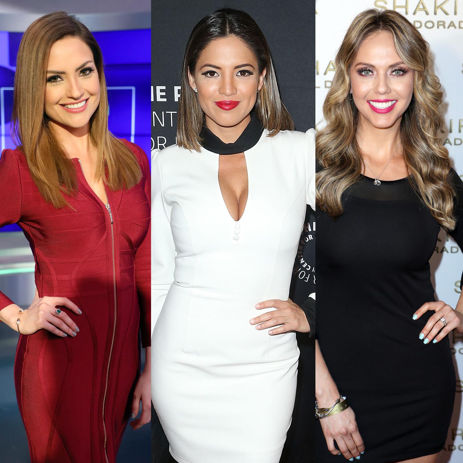 Michelle Galvan, Pamela Silva y Jessica Carrillo