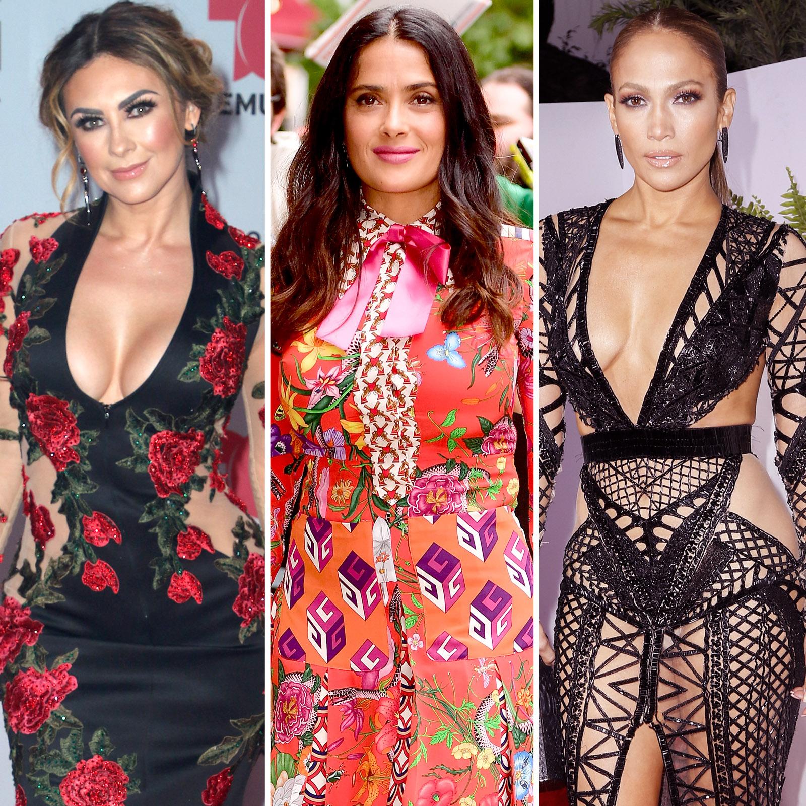 Aracely Arámbula, Salma Hayek y Jennifer Lopez