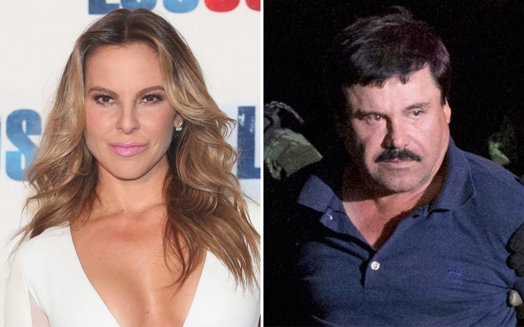 Kate del Castillo y Joaquín 'El Chapo' Guzmán