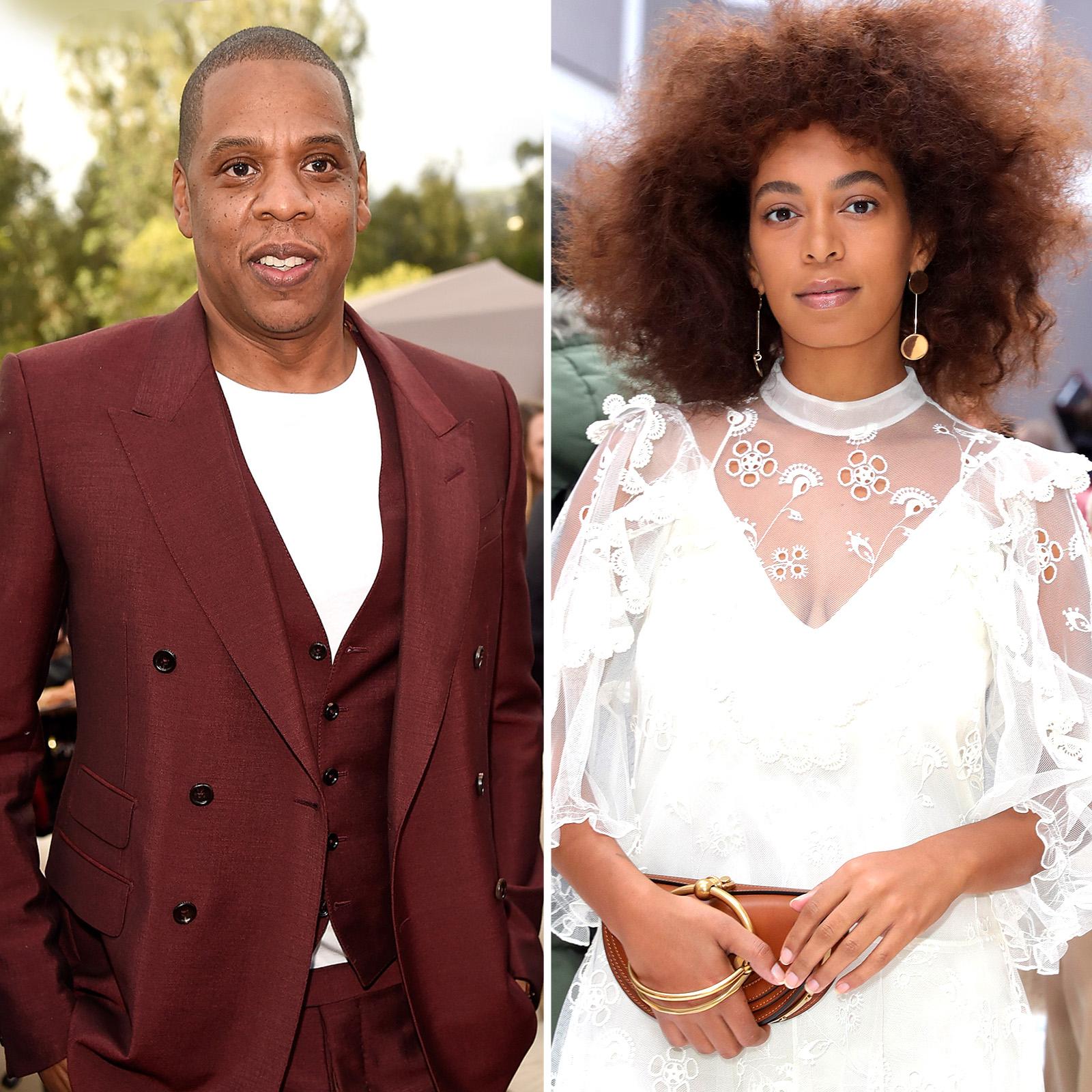 Jay Z y Solange Knowles