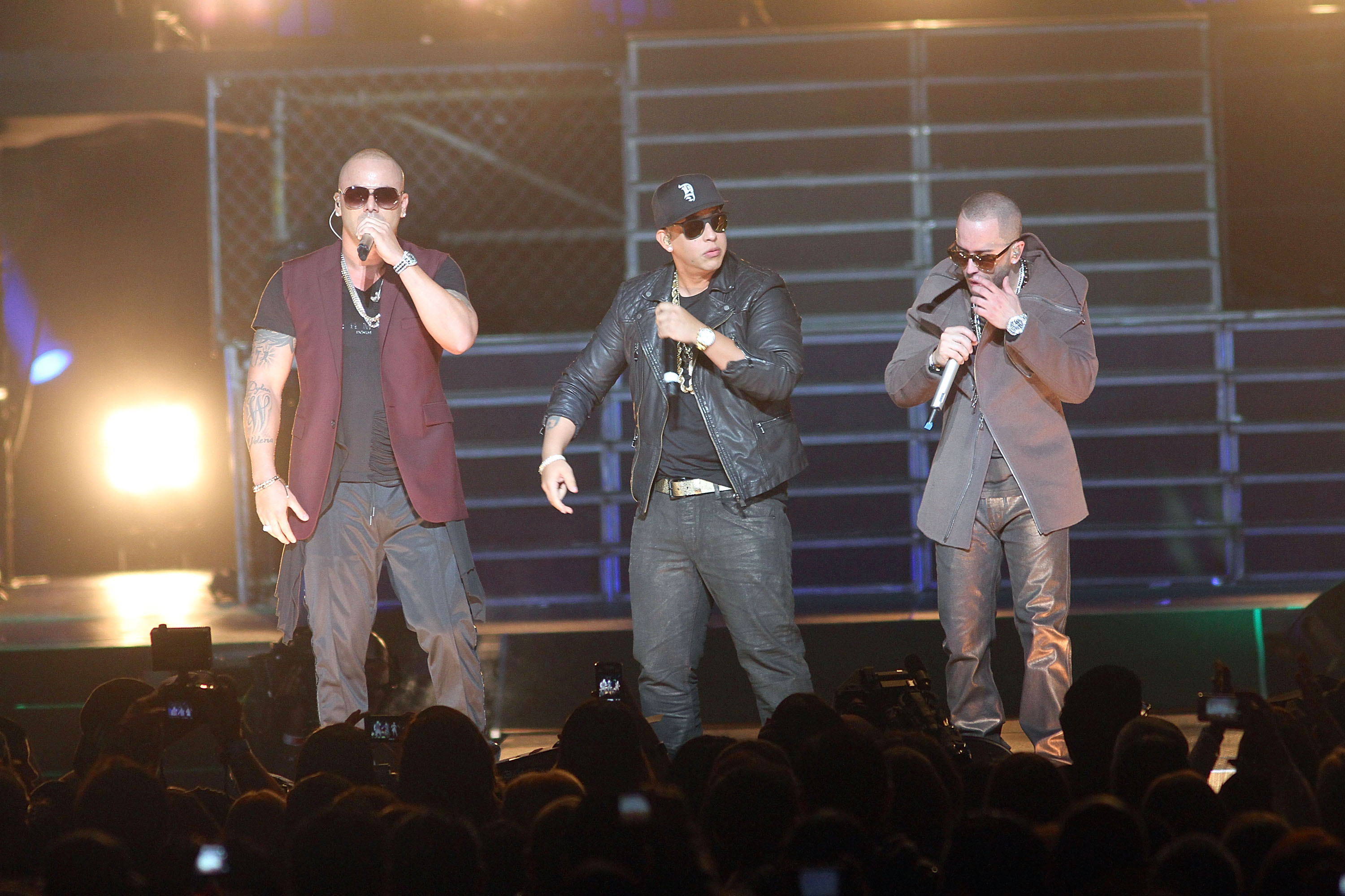 "Jennifer Lopez, Wisin & Yandel ""Follow The Leader"" Concert"