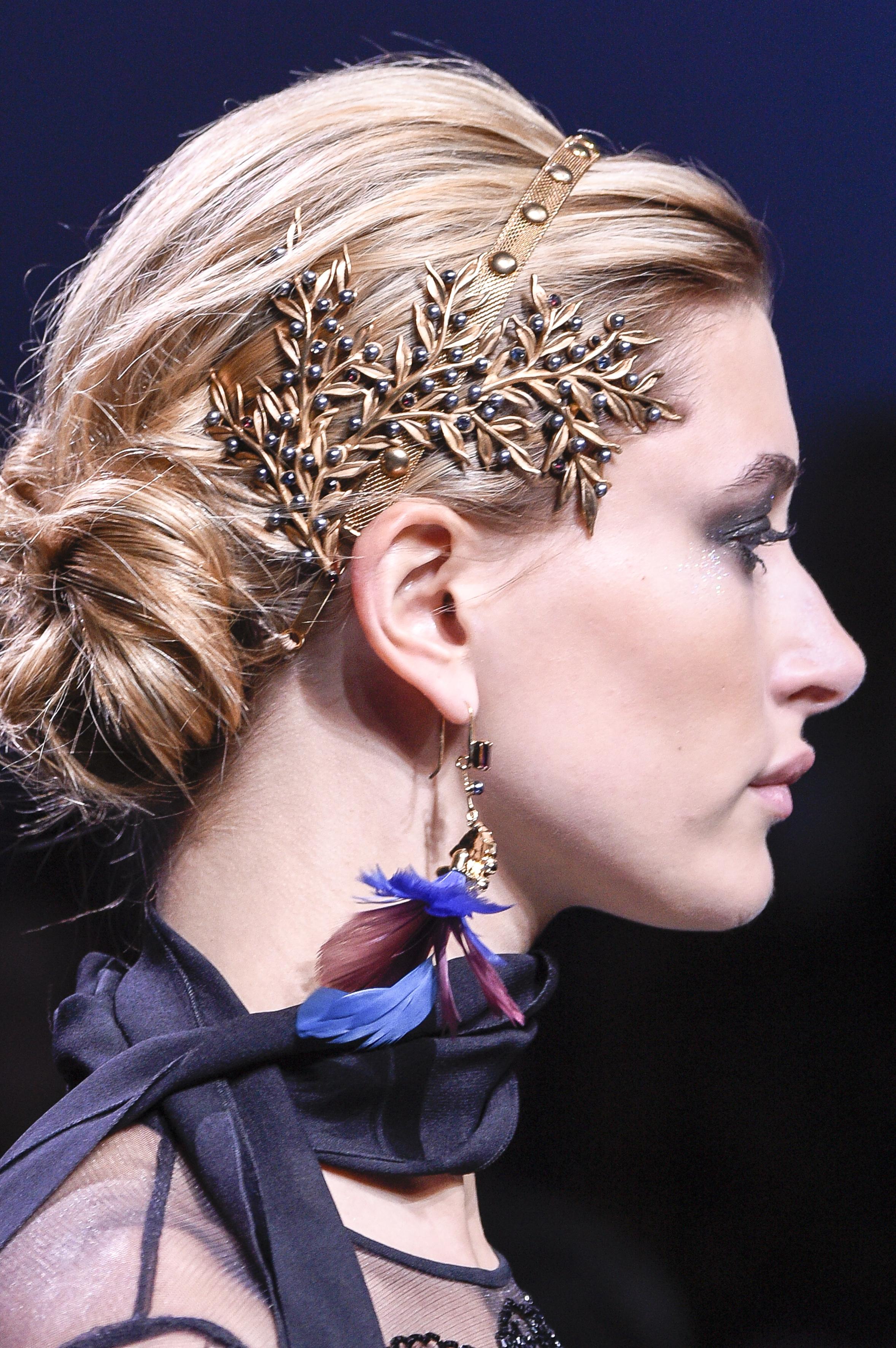 Elie Saab, pasarela, belleza, peinado, otoño, invierno, consejos