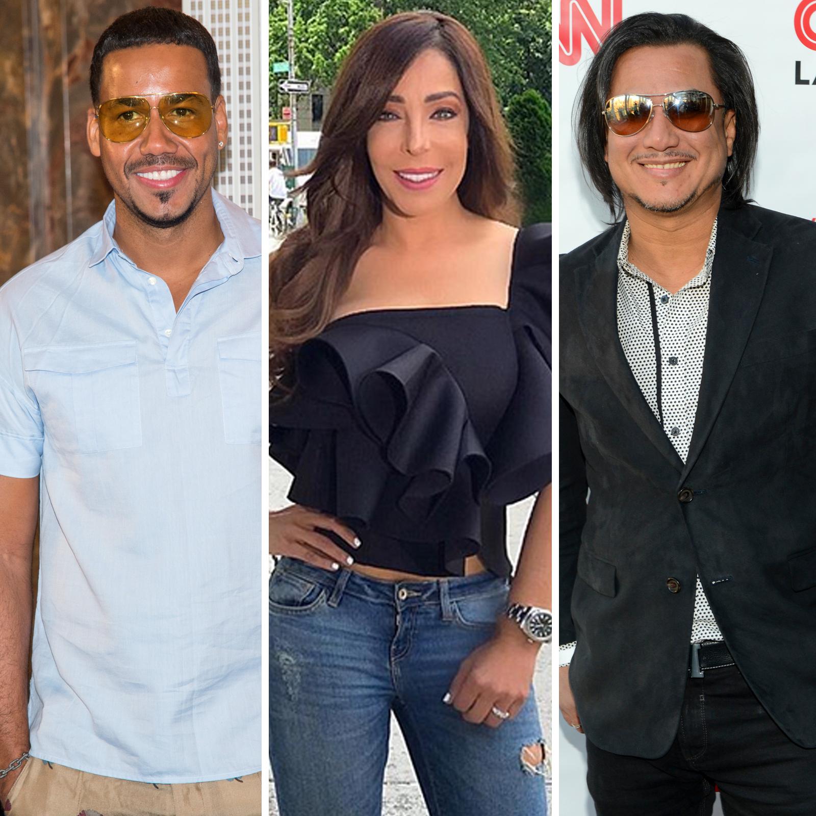 Romeo Santos, Gelena Solano y Andy Andy