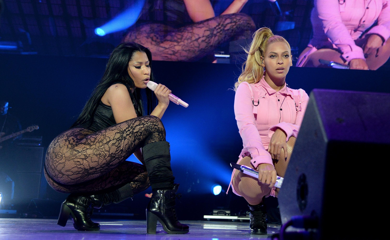 Nicki Minaj y Beyonce