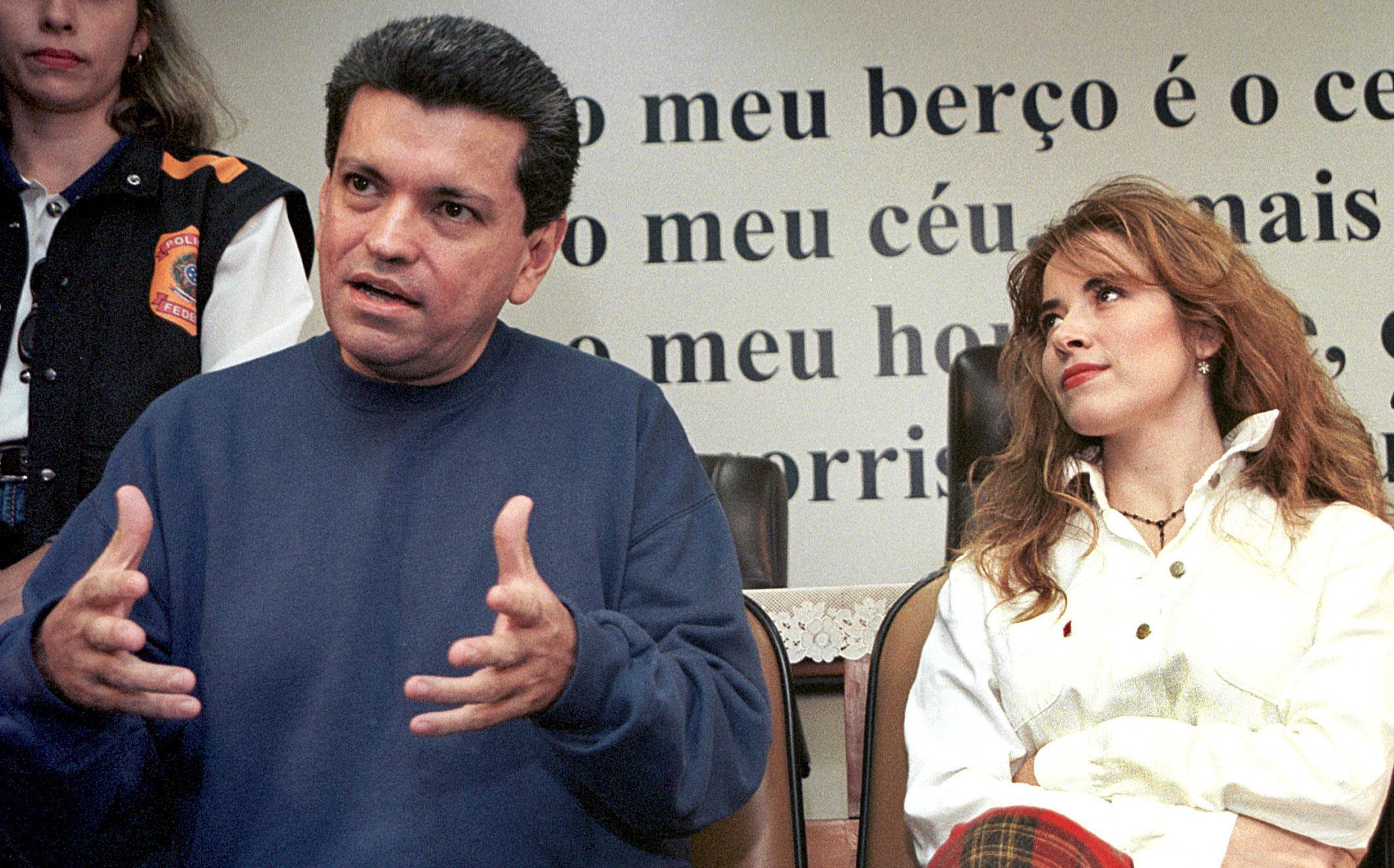 Sergio Andrade y Gloria Trevi