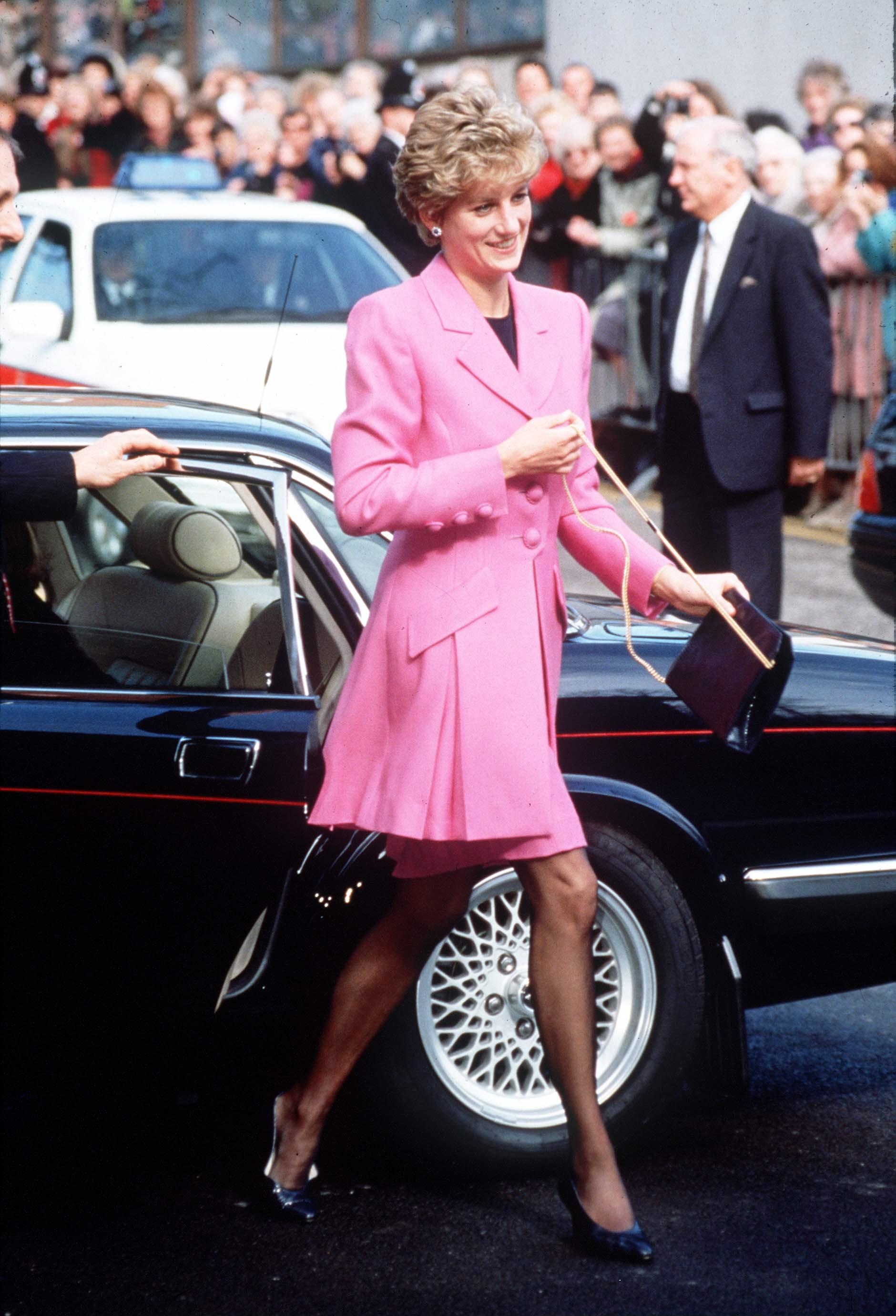 Diana Pink Suit