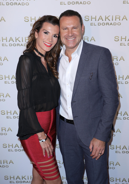 Cristina Bernal y Alan Tacher