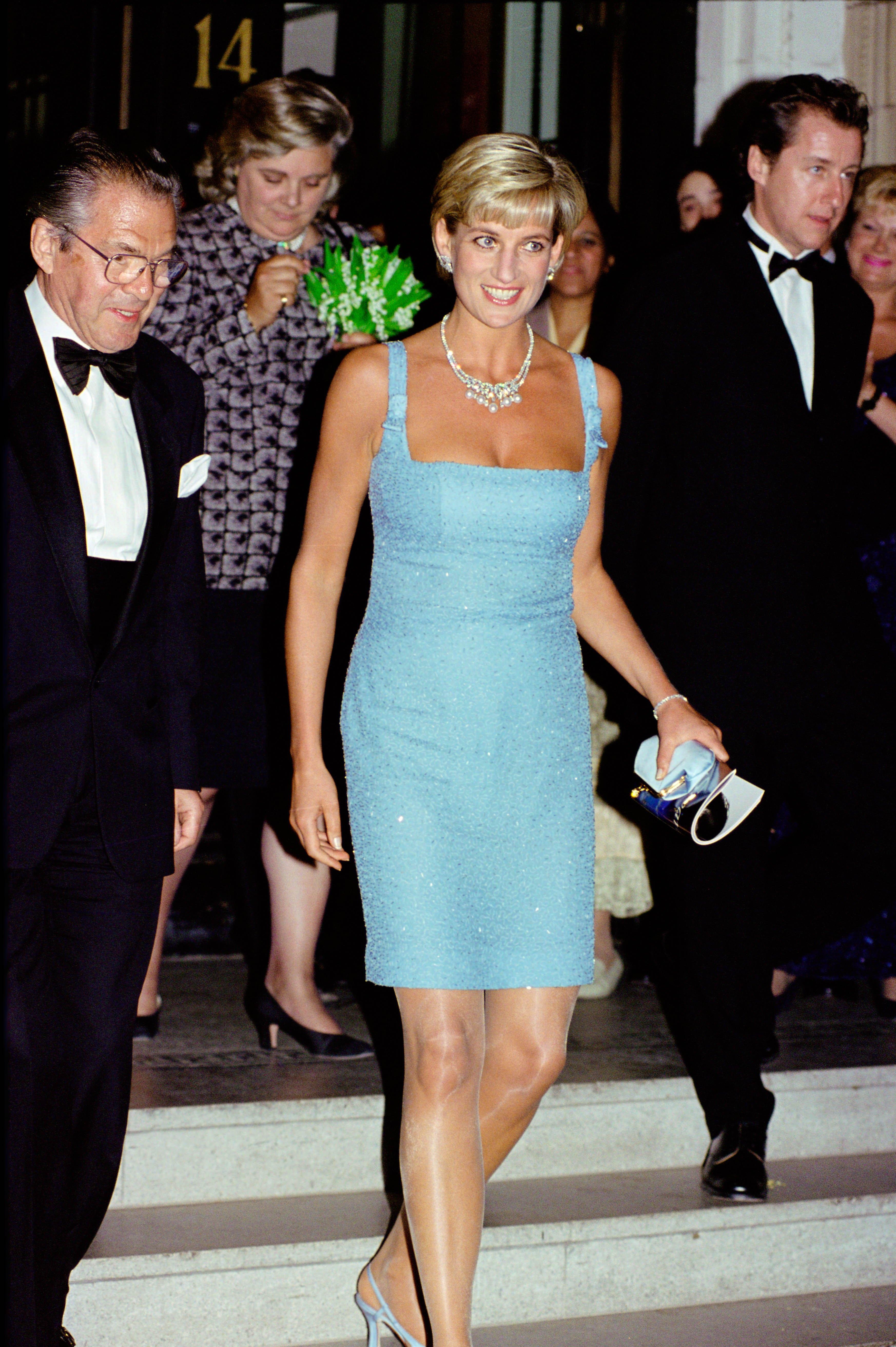 Diana, Princess of Wales as Patron of the English National B