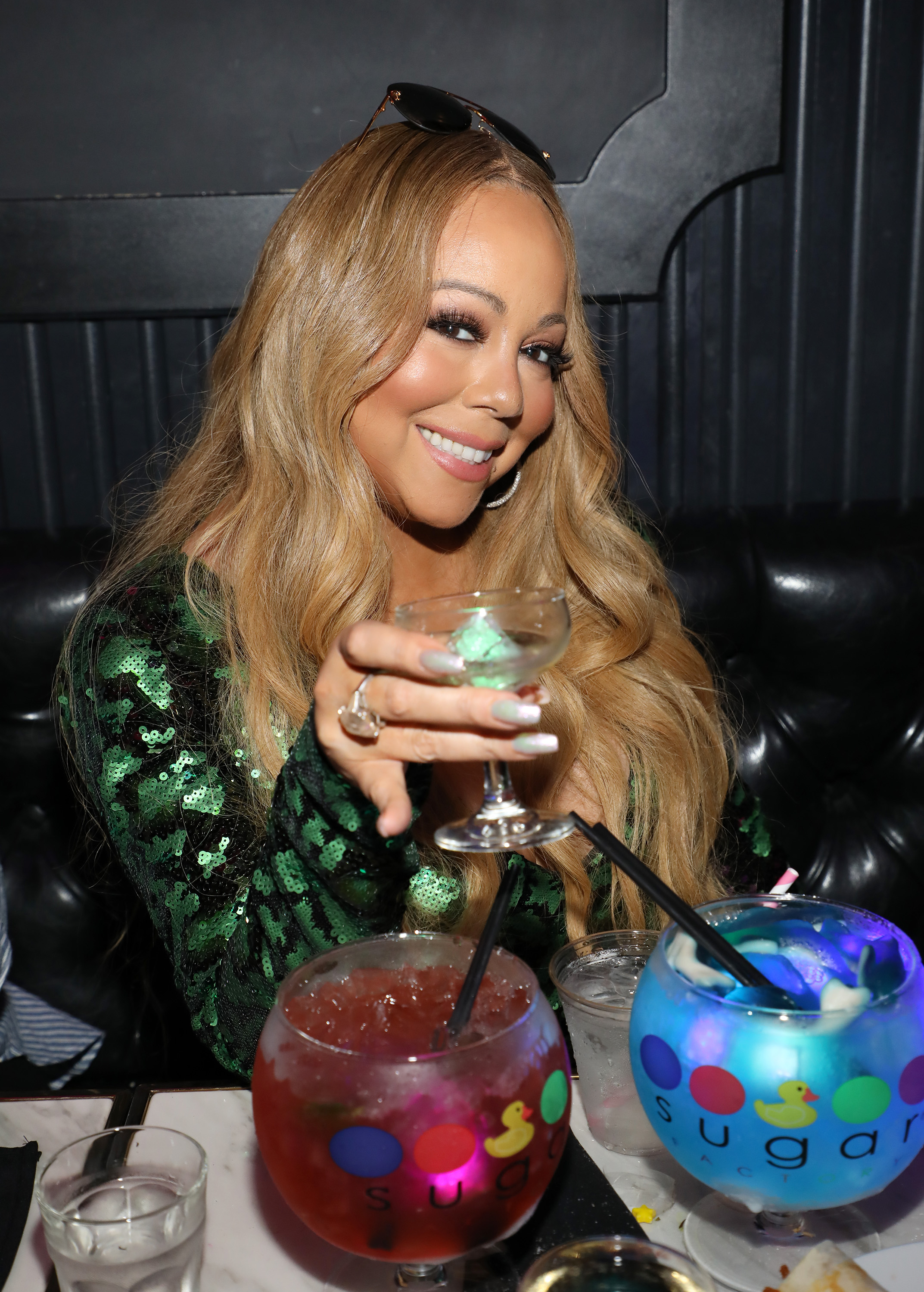 Mariah Carey Concert Afterparty At Sugar Factory American Brasserie On Ocean Drive In Miami
