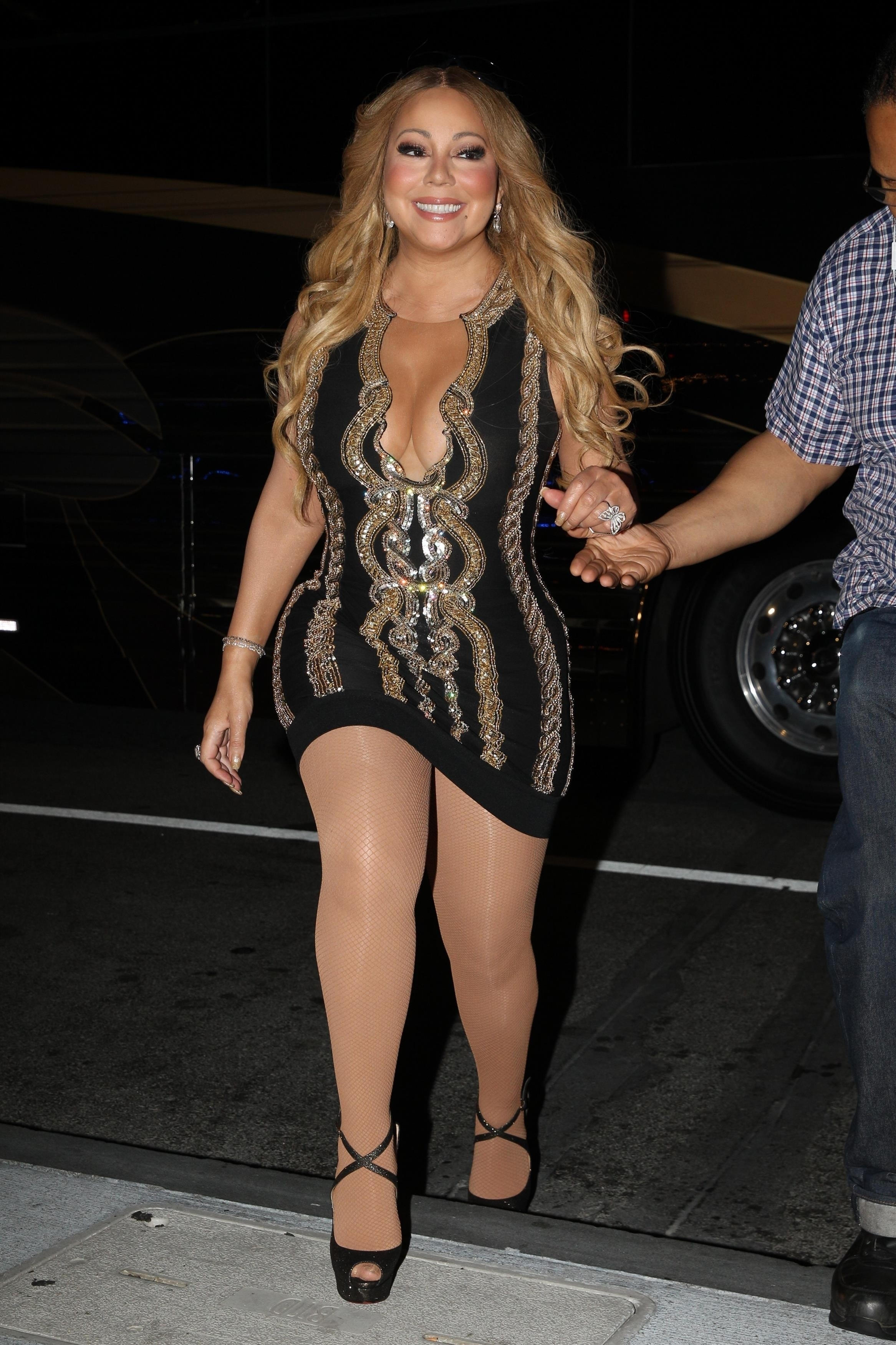 EXCLUSIVE Mariah Carey Looks Happy After Being Criticized by Body Shamers