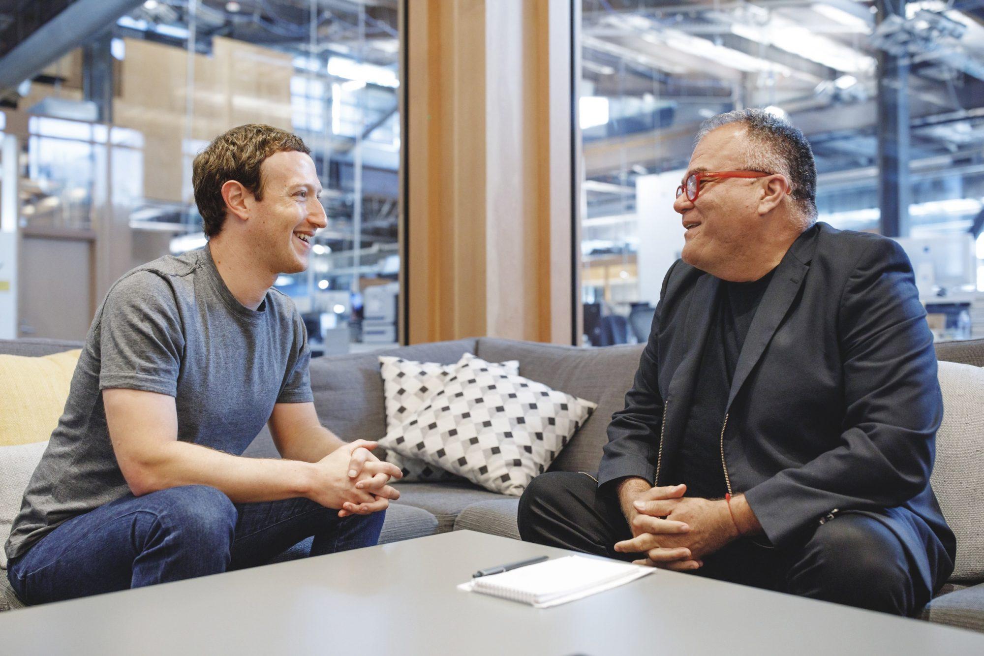 Mark Zuckerberg y Armando Correa