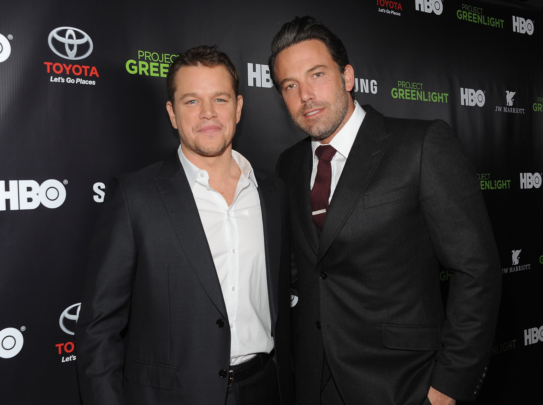 "Matt Damon, Ben Affleck And HBO Reveals Winner Of ""Project Greenlight"" Season 4 - Red Carpet"