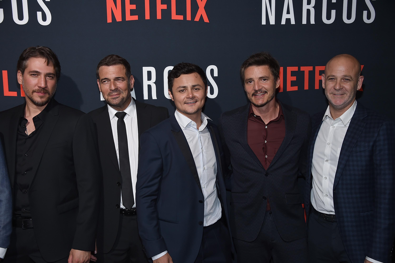 Alberto Ammann, Pepe Rapazote, Arturo Castro, Pedro Pascal
