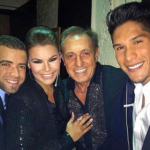Olga Tañón, Franco De Vita, Chino y Nacho, sin filtro