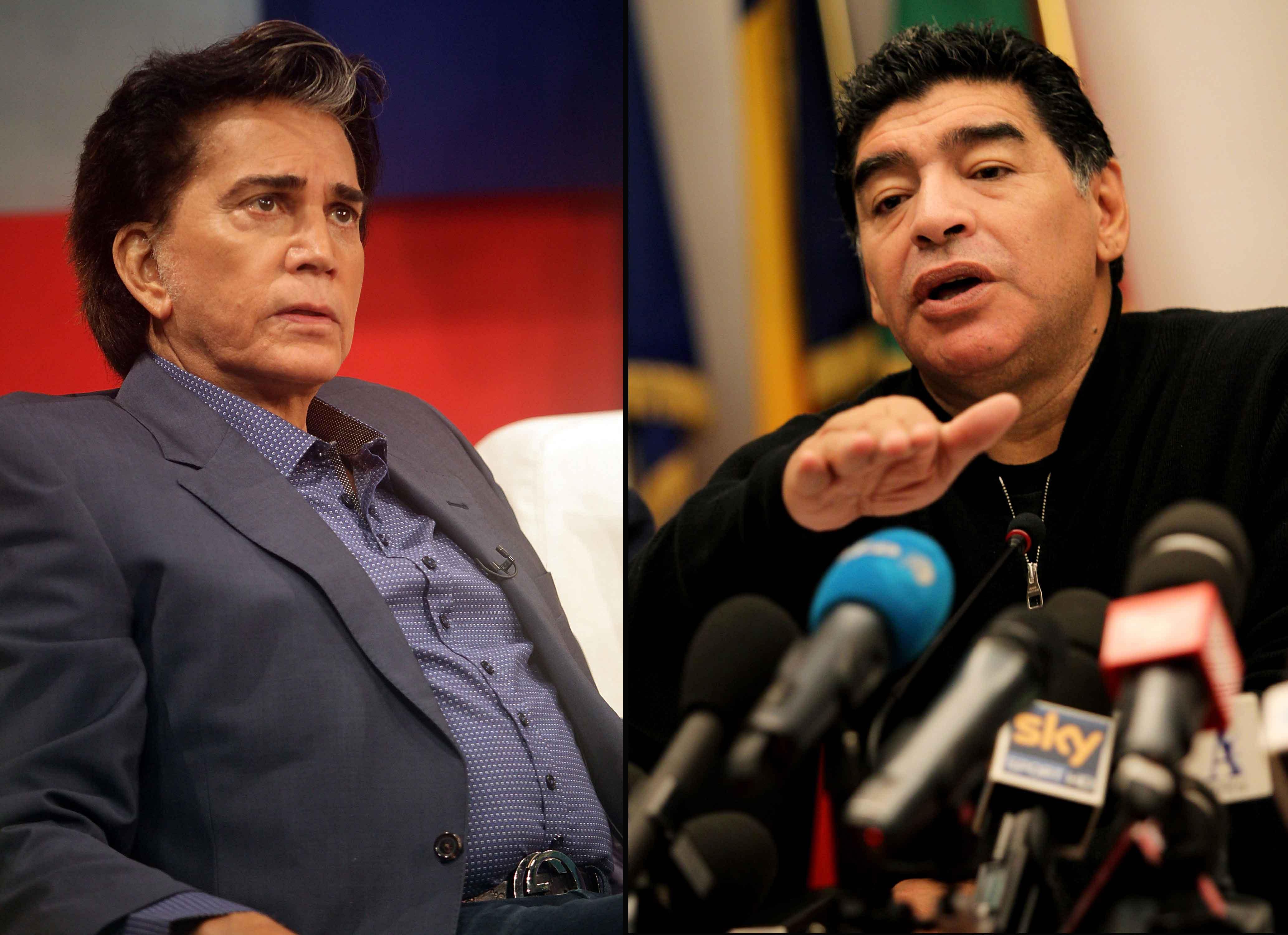 José Luis Rodríguez y Maradona