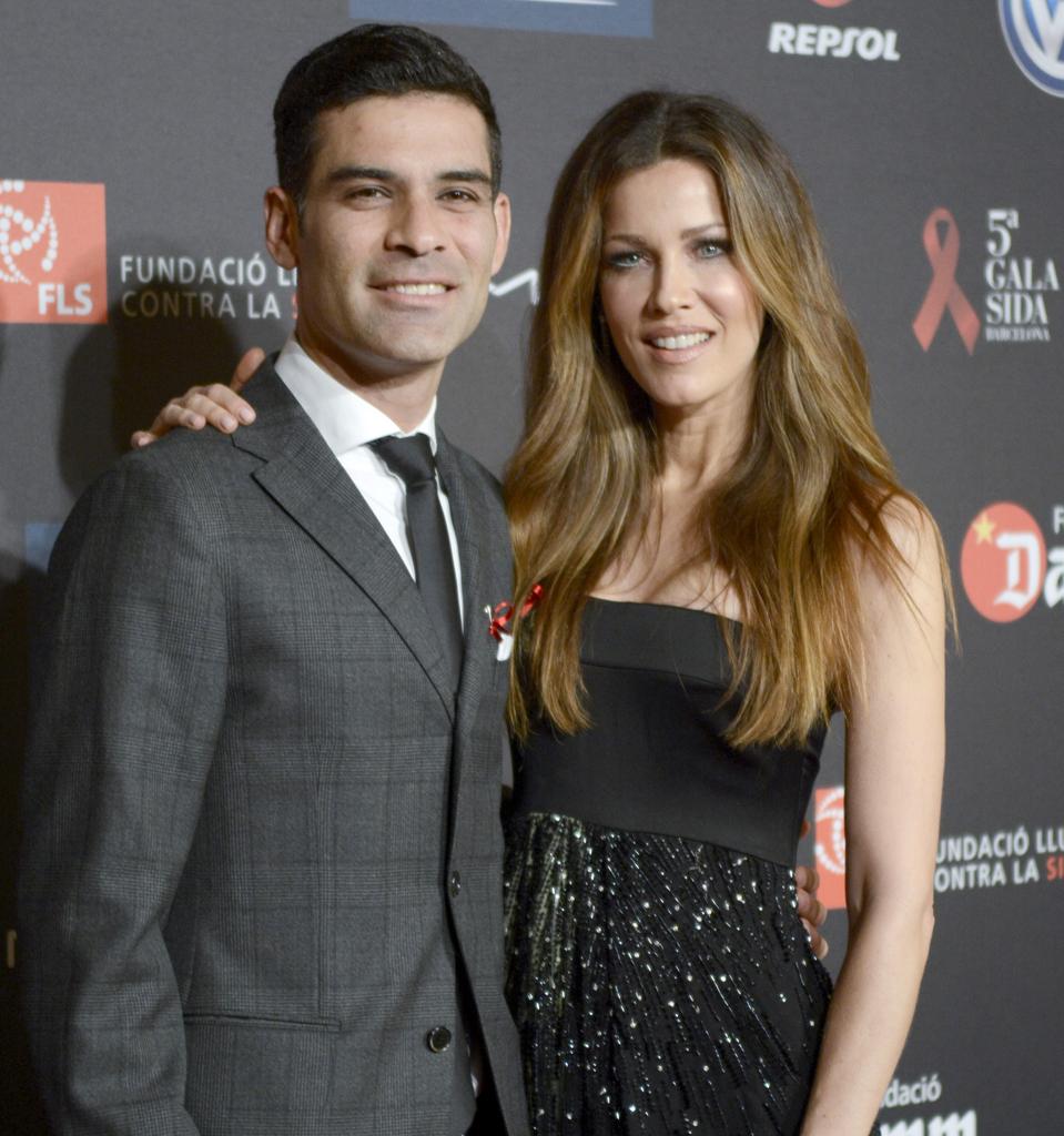 Rafa Marquez y Jaydy Michel