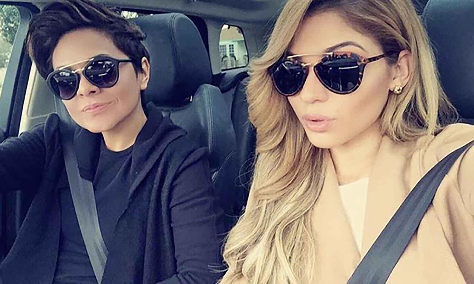 Sandra Cano y Josephine Ochoa