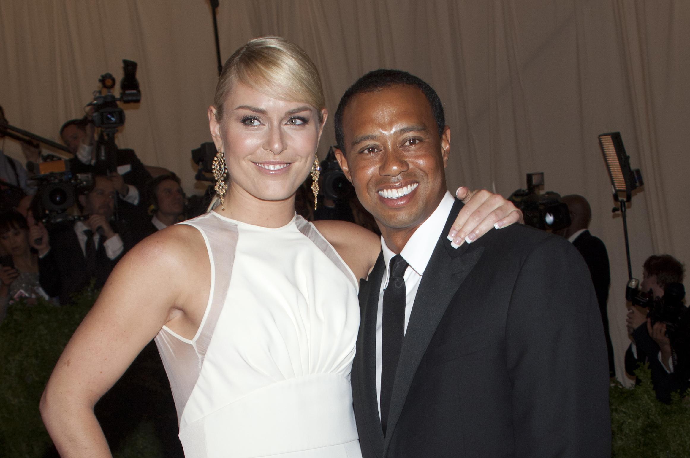 Tiger Woods and Lindsay Vonn