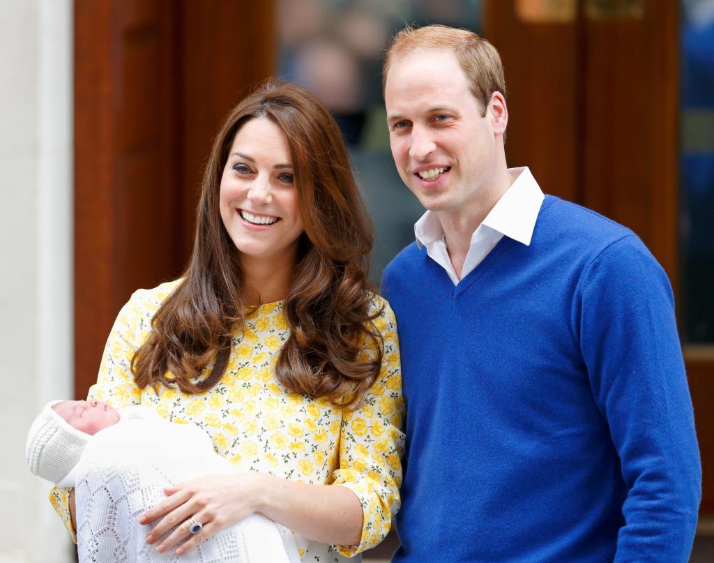 Kate Middleton, Principe William y Charlotte Elizabeth Diana