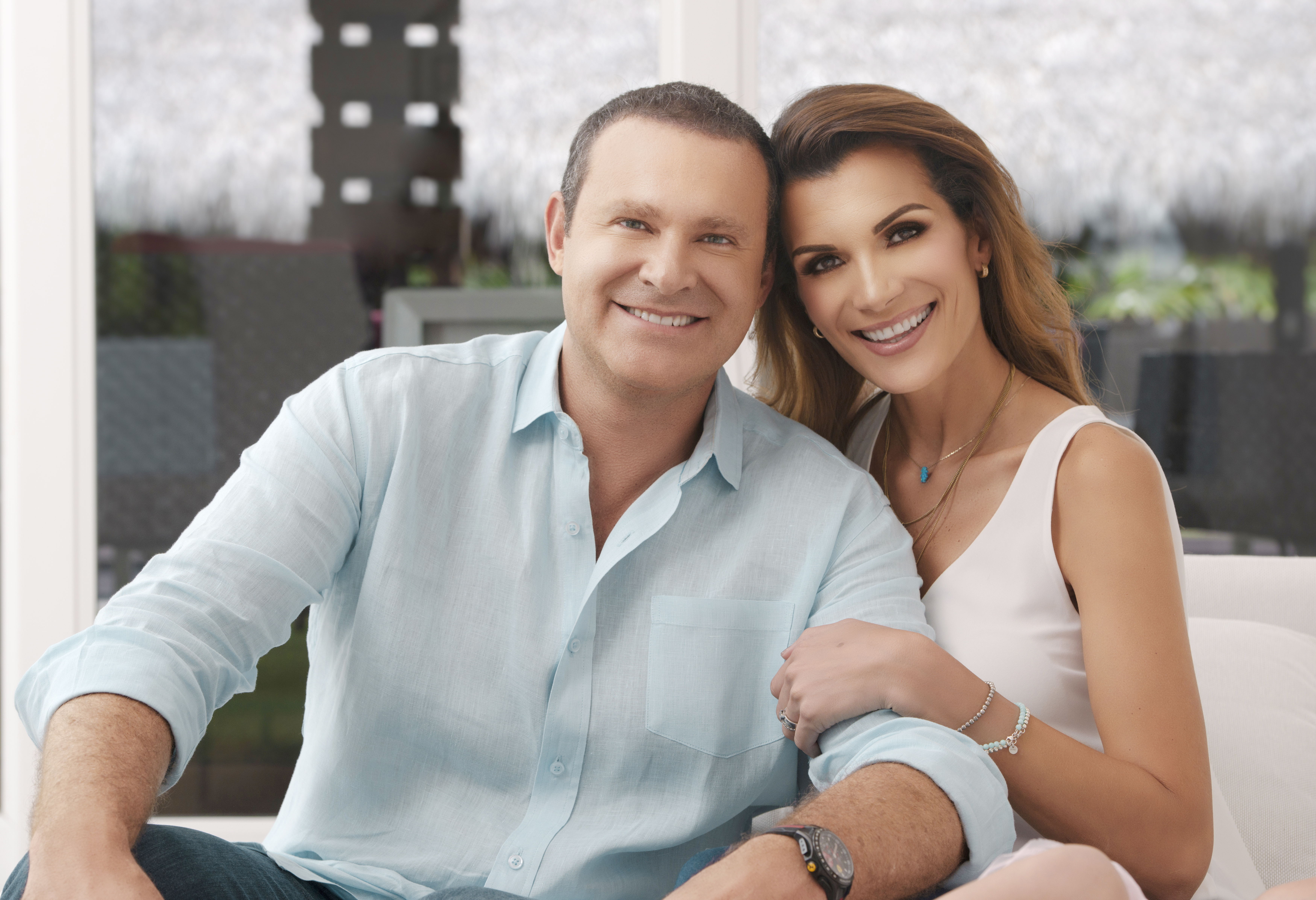 Alan Tacher y Cristina Bernal
