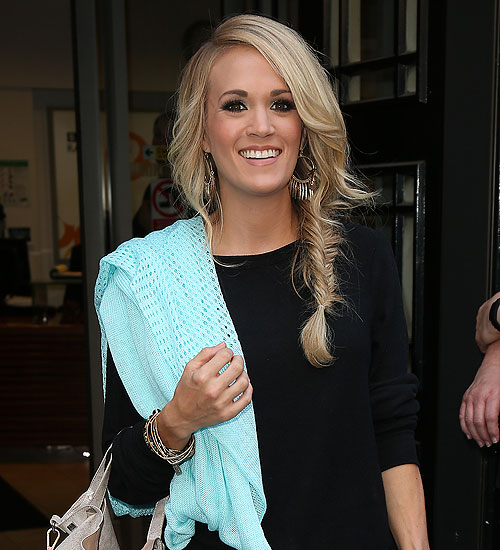 Carrie Underwood, trenzas