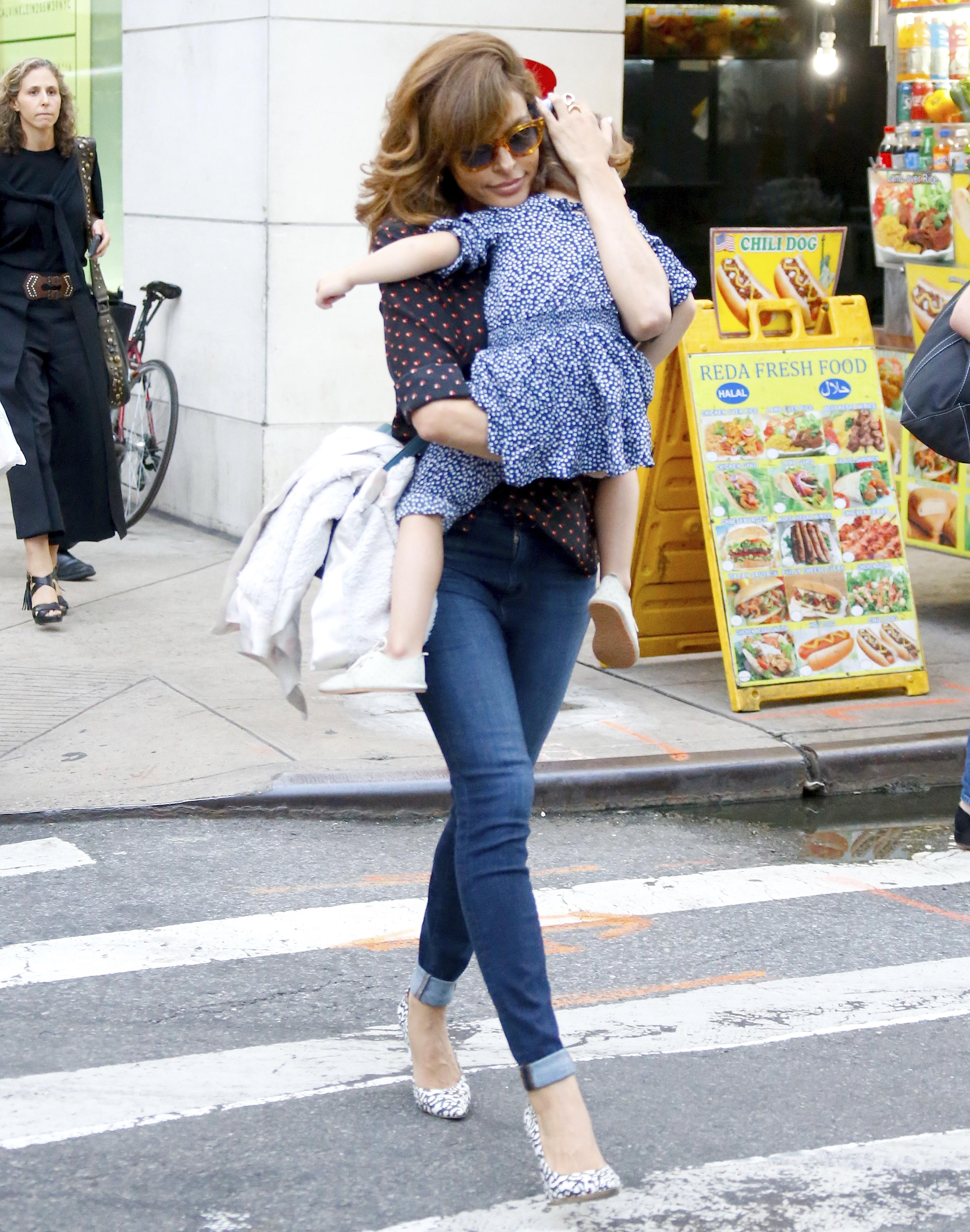 Eva Mendes e hija