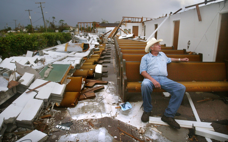 Huracán Charley Florida 2004
