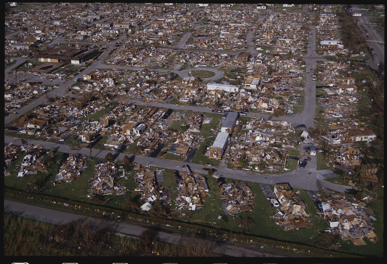 Huracán Andrew Florida 1992