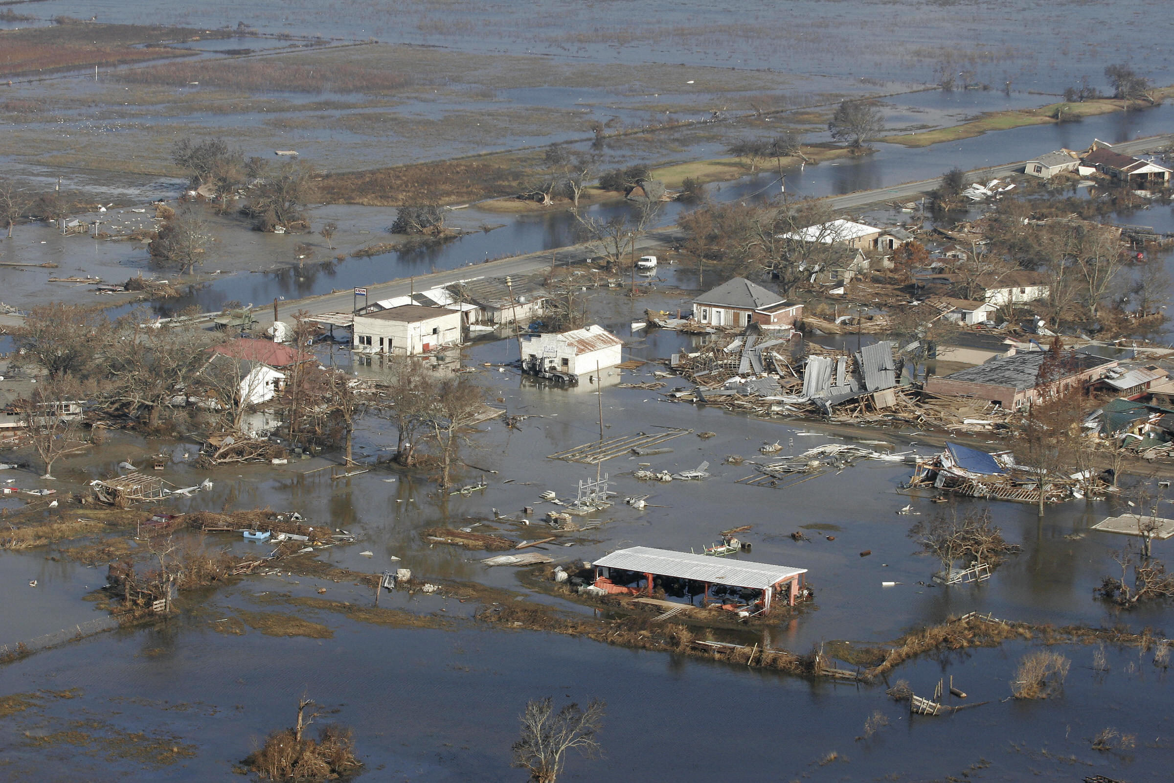 Huracán Rita Louisiana 2005