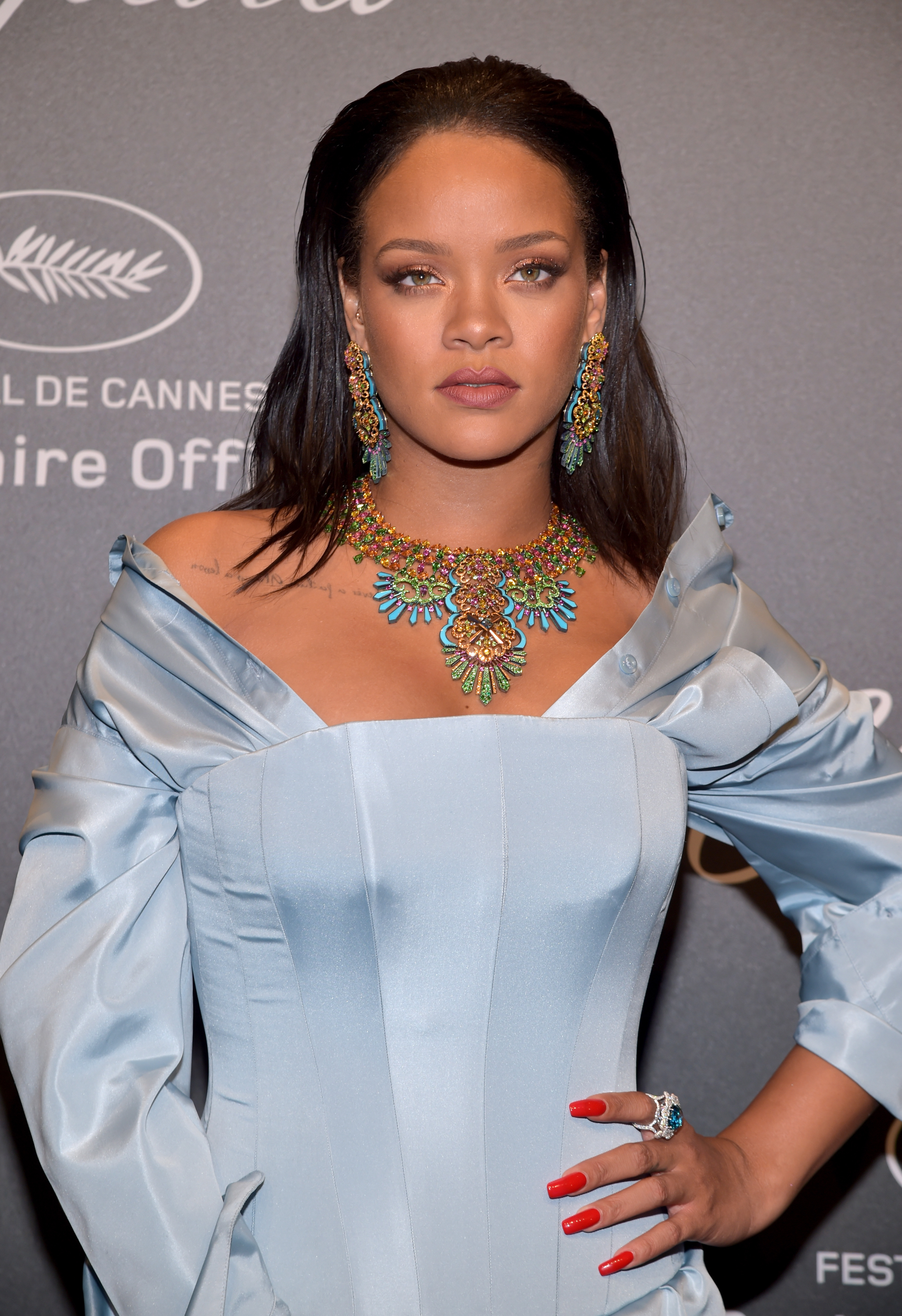 Rihanna, jewelry, joyas, Cannes, Cannes film festival 2017
