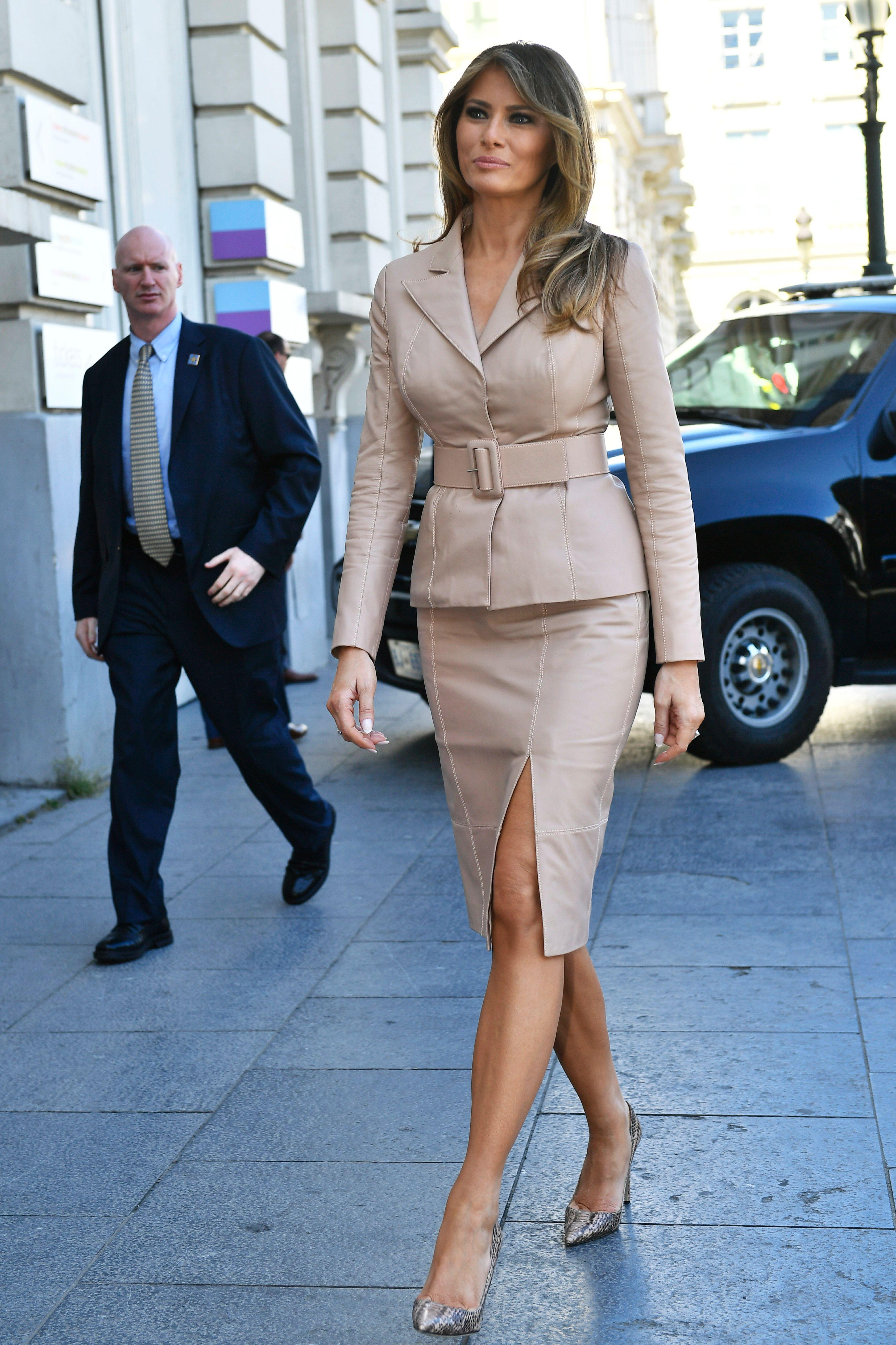 Melania trump, style, estilo, looks, moda, primera dama