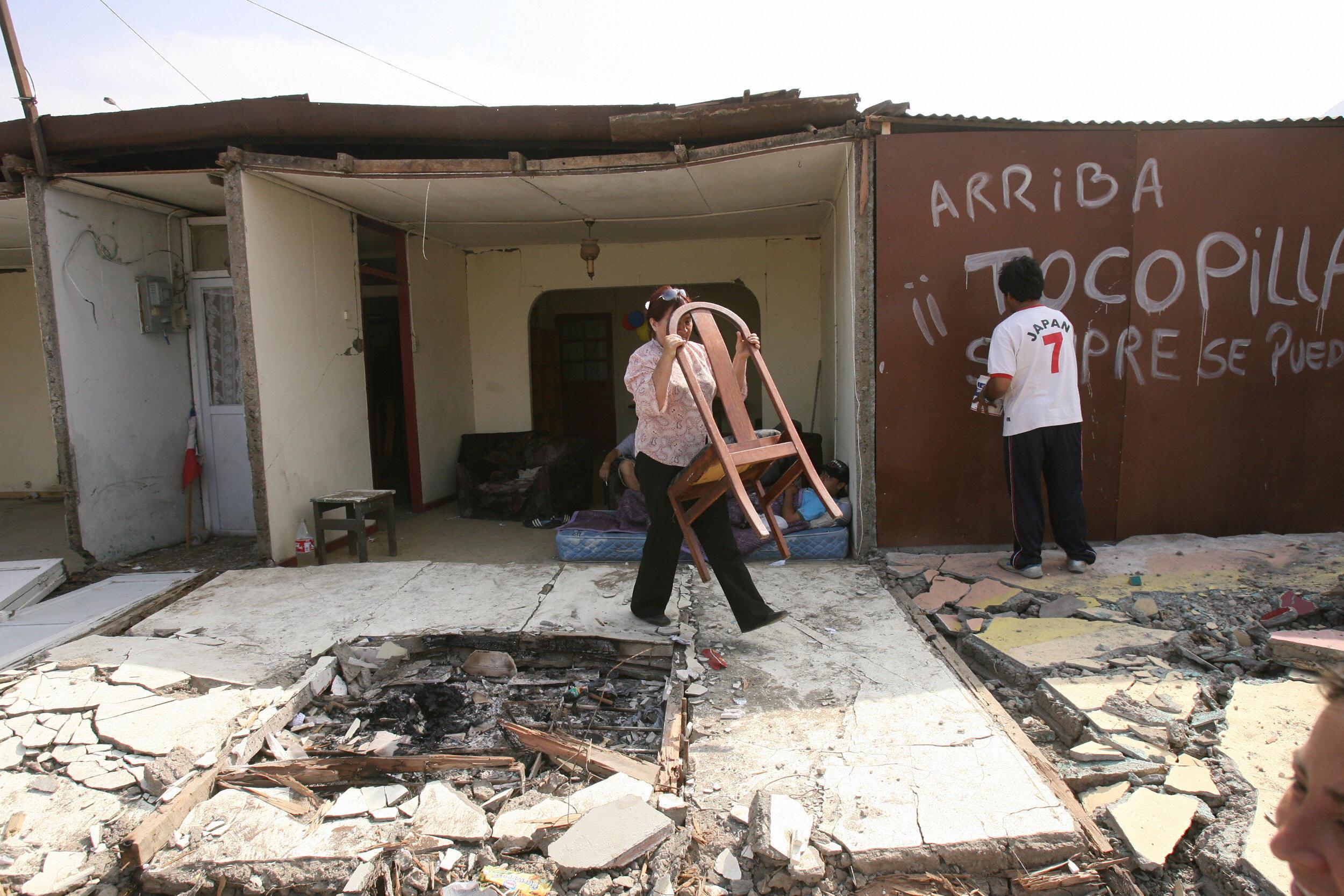 Perú: 15 de agosto de 2007