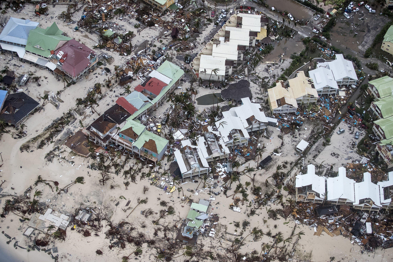 Huracán Irma St. Martin 2017