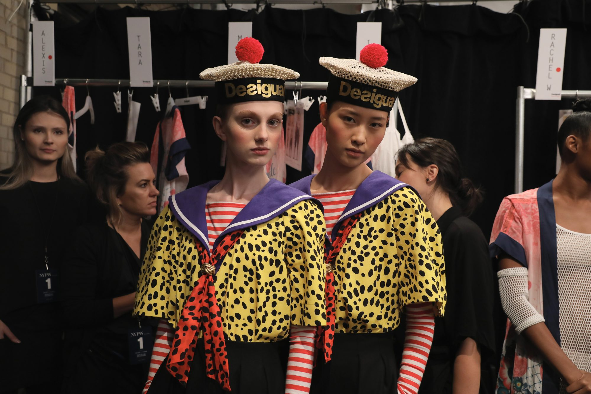NYFW, semana de la moda, new york fashion week, Desigual, desfile, looks