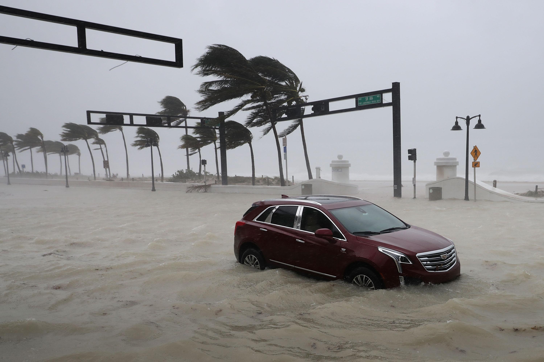 Destrozos provocados por el huracán Irma