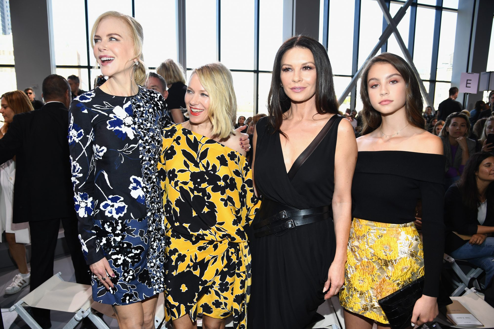 Catherine Zeta Jones, hija, nyfw, moda, estilo, , carys zeta douglas