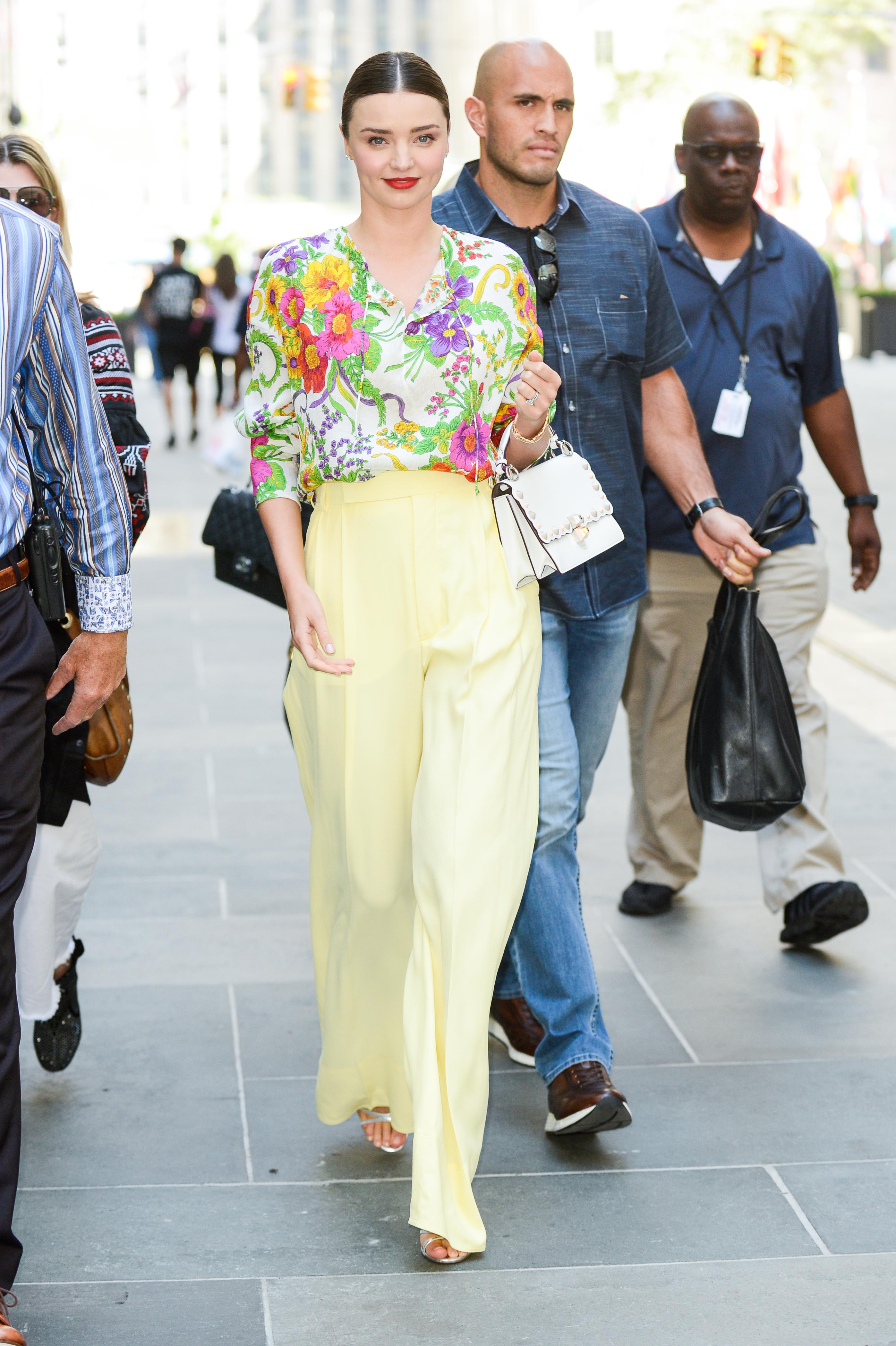 Miranda Kerr, looks, estilo, style, NYFW
