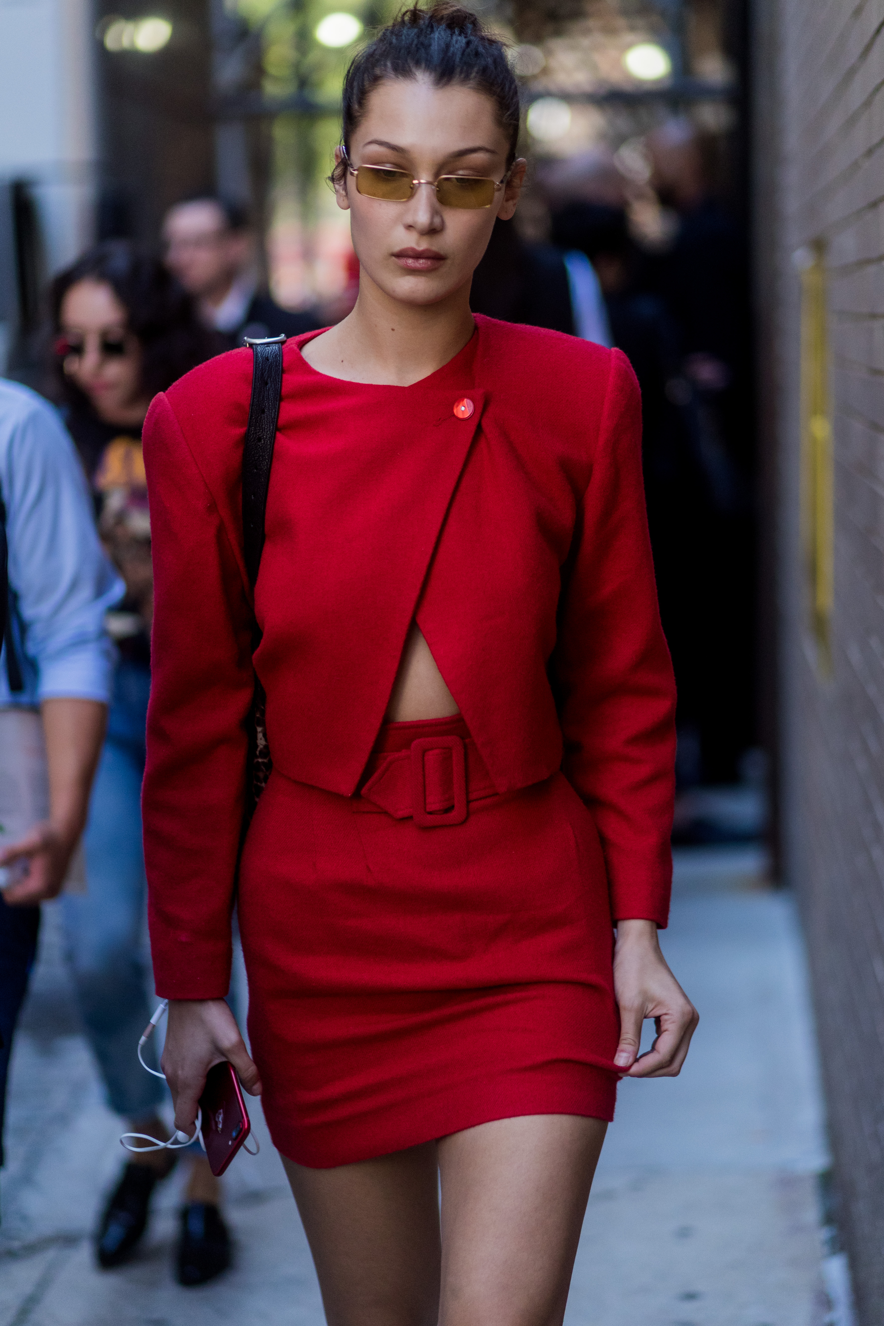 rojo, red, estilo, look, famosas, tendencia